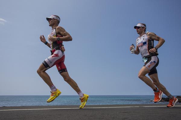 Trening teka triatlon